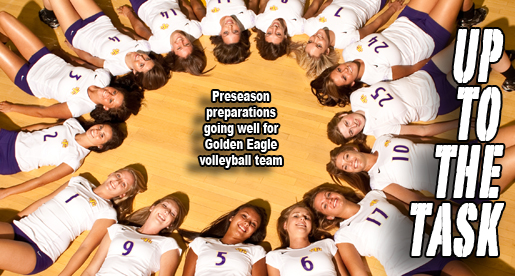 Outlook: Golden Eagle volleyball team prepares for 2011 season