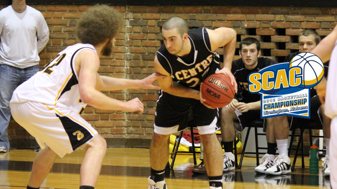Trinity & Centre To Advance To SCAC Men's Championship Game