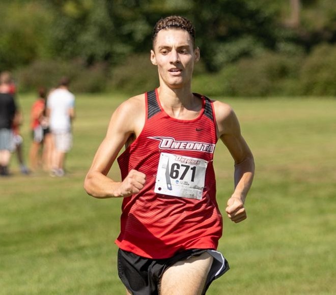 McDonald picked as Men's Cross Country Runner of the Week