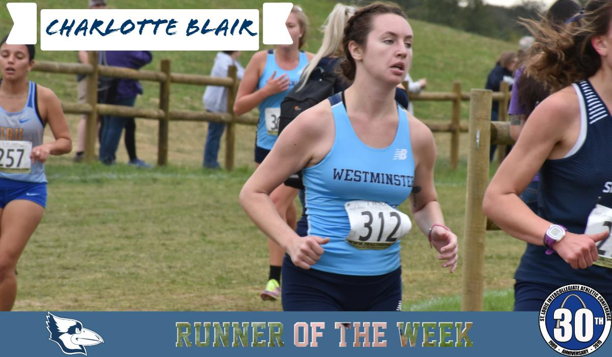 Blair Named SLIAC Runner of the Week
