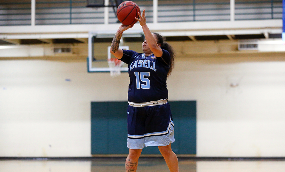 WBK: Ortiz and Young lead Lasell past Rivier for GNAC victory