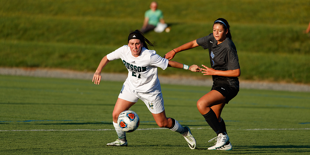 Saulter's Double O.T. Goal Sends Women's Soccer to First NAC Championship Game in Seven Years