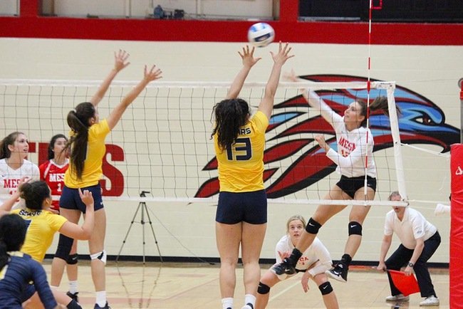 3-0 Sweep for #16 Mesa Over Phoenix College Friday Night