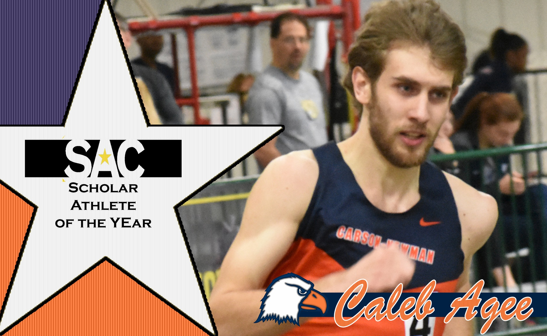 Agee named SAC Scholar Athlete of the Year