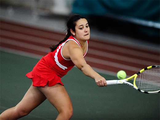 Fords dominate singles action on way to 6-3 victory over Stevens