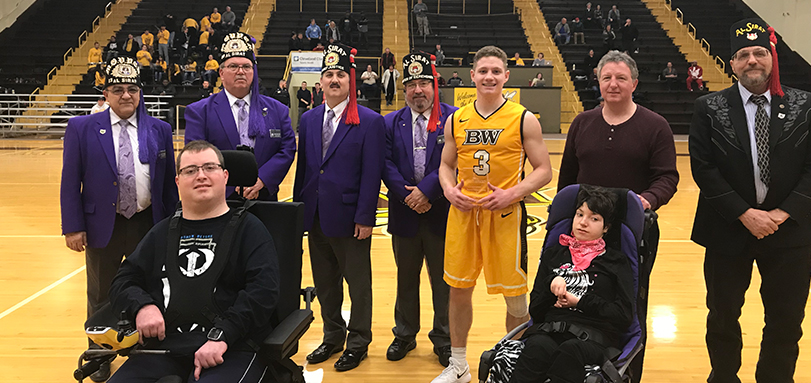 Michael Quiring was named the Al Sirat Grotto Player of the Game