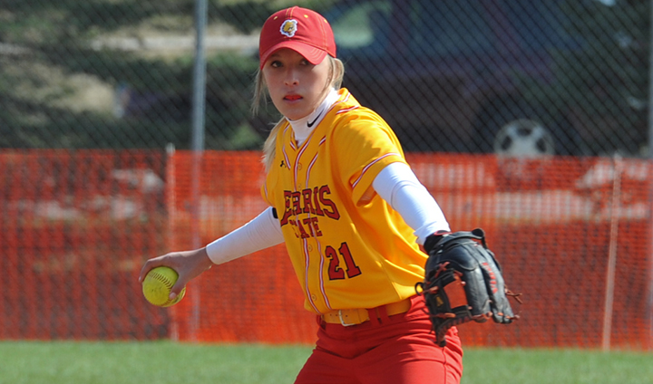 Ferris State Softball Posts Split At The Spring Games In Friday Action