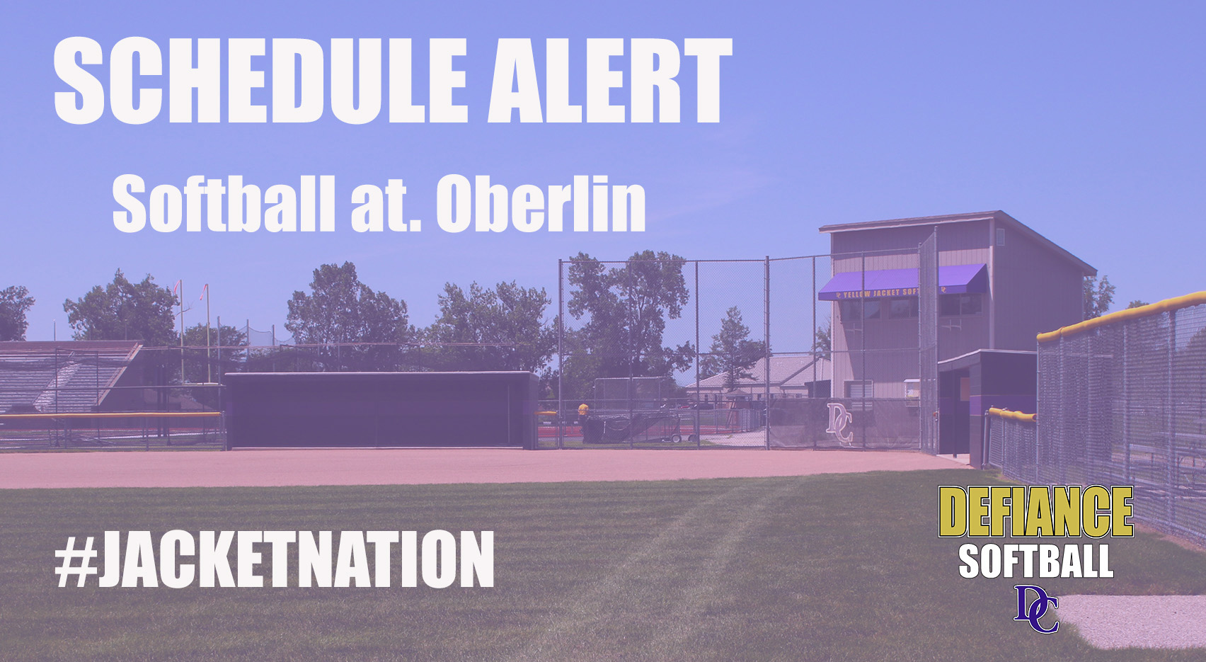 Softball at Oberlin Postponed