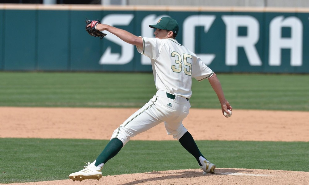 RANDALL THROWS SHUTOUT; BASEBALL TAKES SERIES AT CAL BAPTIST WITH 1-0 SUNDAY WIN