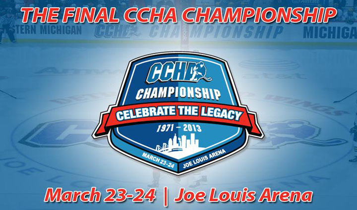 2013 CCHA Playoff Matchups Officially Announced