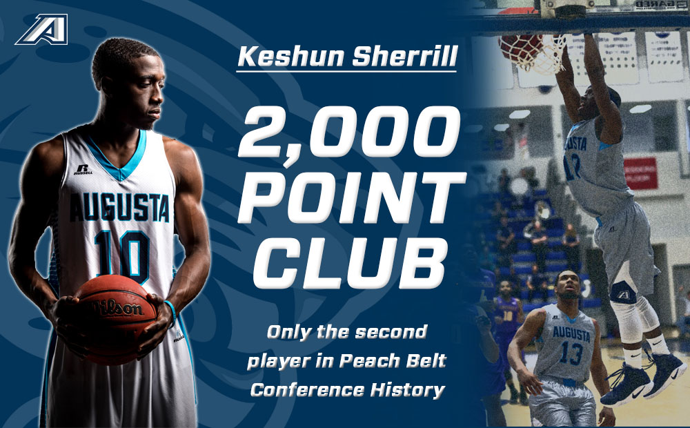 Sherrill Seals 2,000 Career Points, Jags Down Flagler For Seventh Straight Win