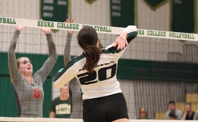 Keuka College Women's Volleyball Splits Opening Night