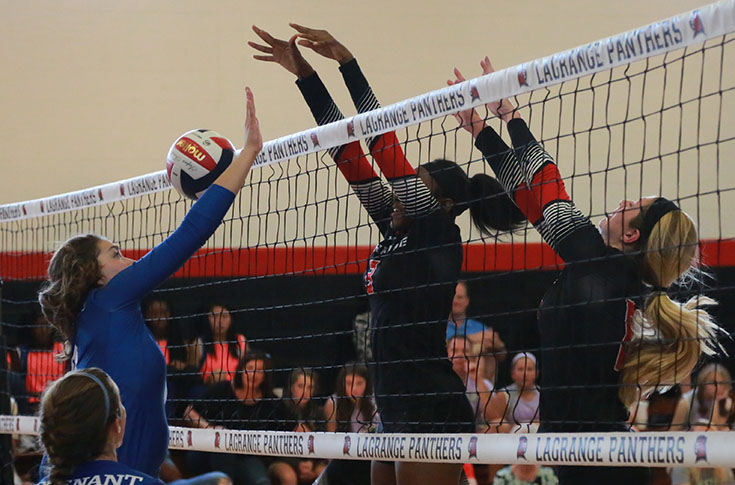 Volleyball: Panthers top Berea and Agnes Scott in USA South matches