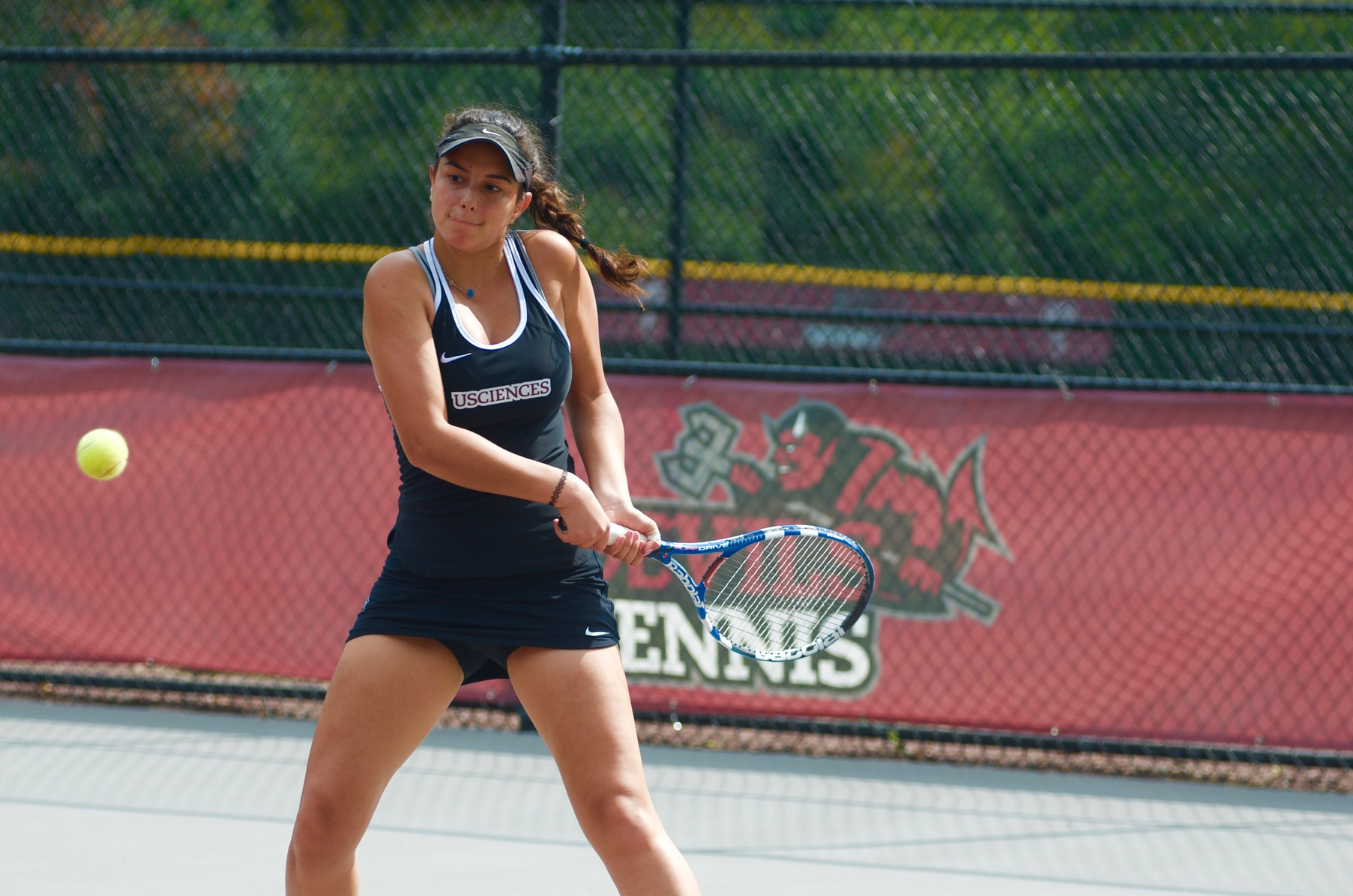 Women's Tennis Wins Two of Three Doubles Matches; Falls Just Short in 5-4 Loss to St. Thomas Aquinas