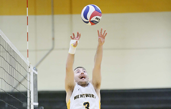 MIT Outlasts Men's Volleyball