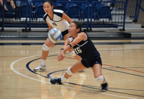 UMW Volleyball Drops Pair in California