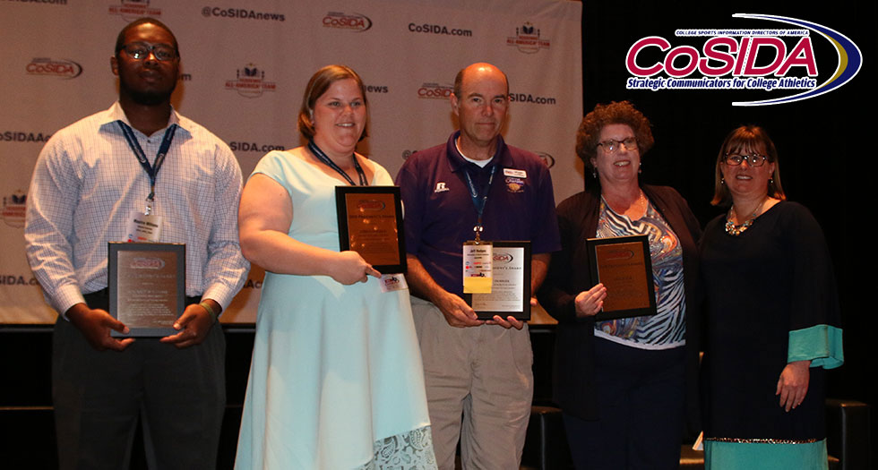Canfield Receives CoSIDA President's Award