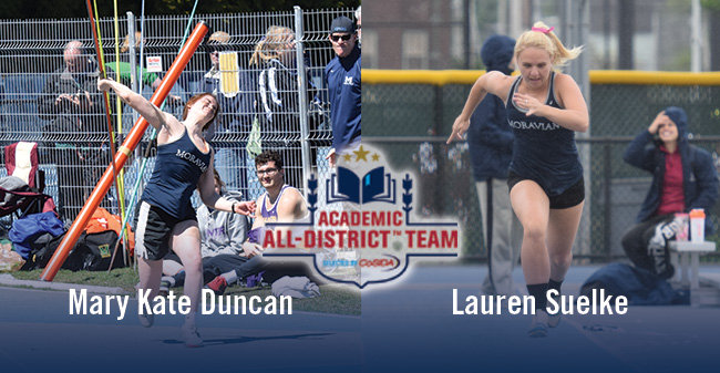Duncan & Suelke Named to CoSIDA Academic All-District Team for Women's Track/Cross Country