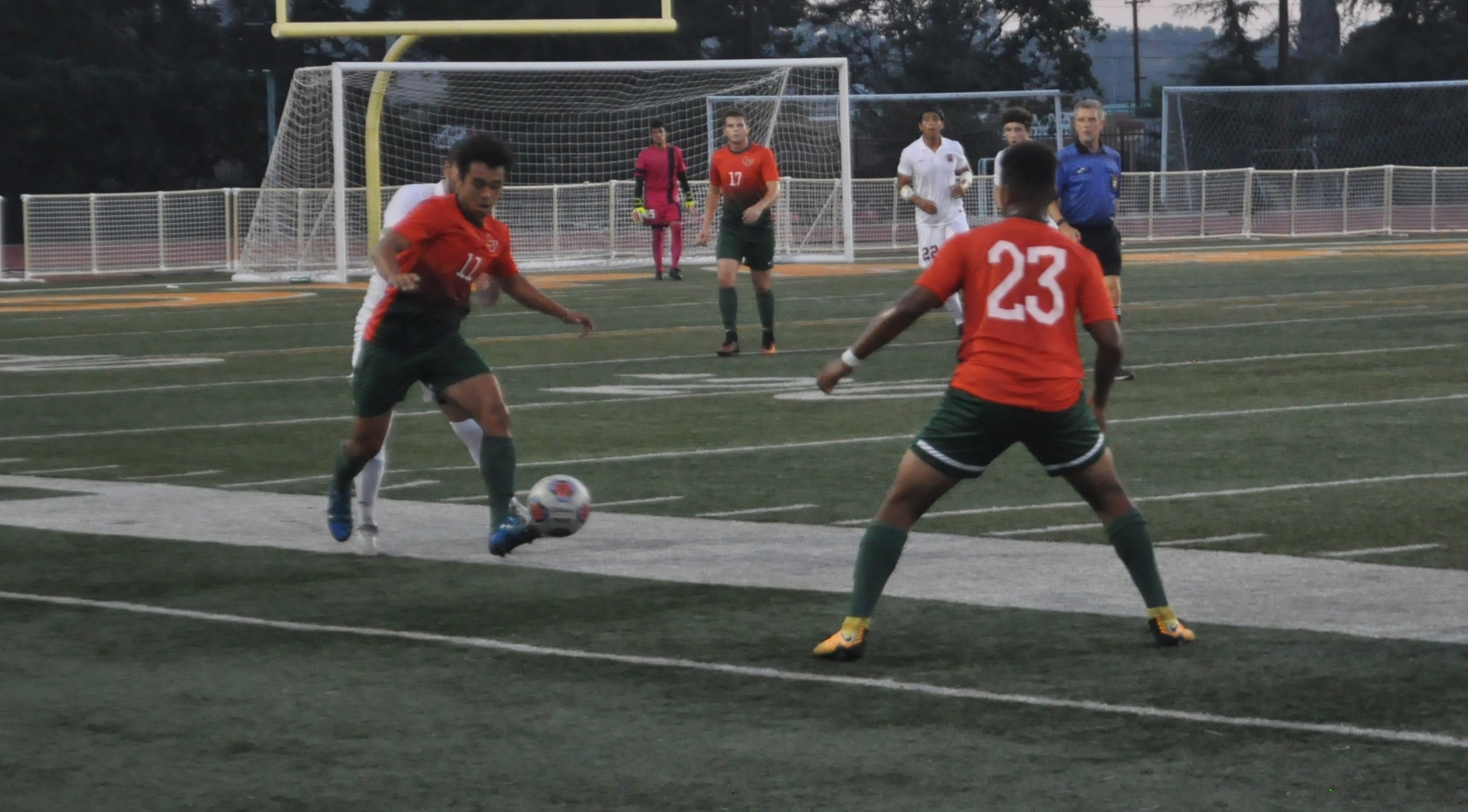 Men's Soccer surges late in win over Willamette