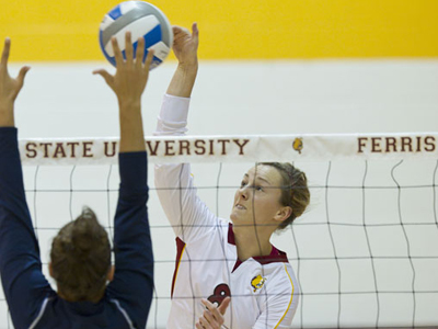 Ashley Huntey and the 2011 Bulldog women's volleyball team begin spring practice this Tuesday  (Feb. 22).