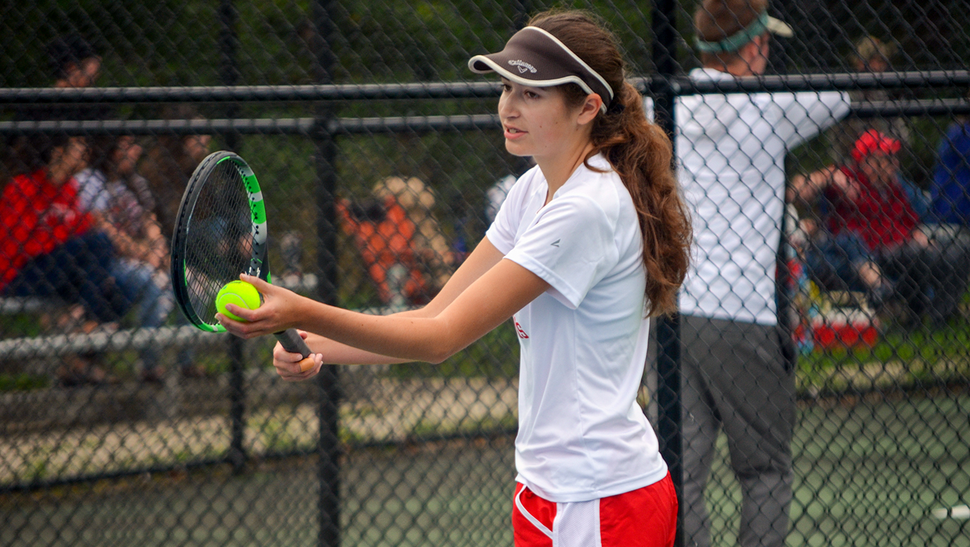 Women's tennis team shutout by Alma