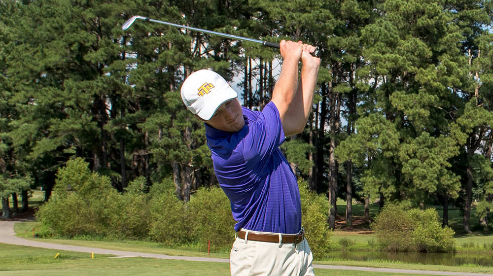 Riddle, Wilkerson pace Golden Eagles to third-place showing at Grover Page Classic