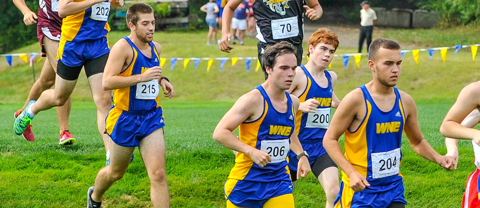 Western New England Places Four in Top-10 En Route to 2nd Place Finish at Blazer Invitational