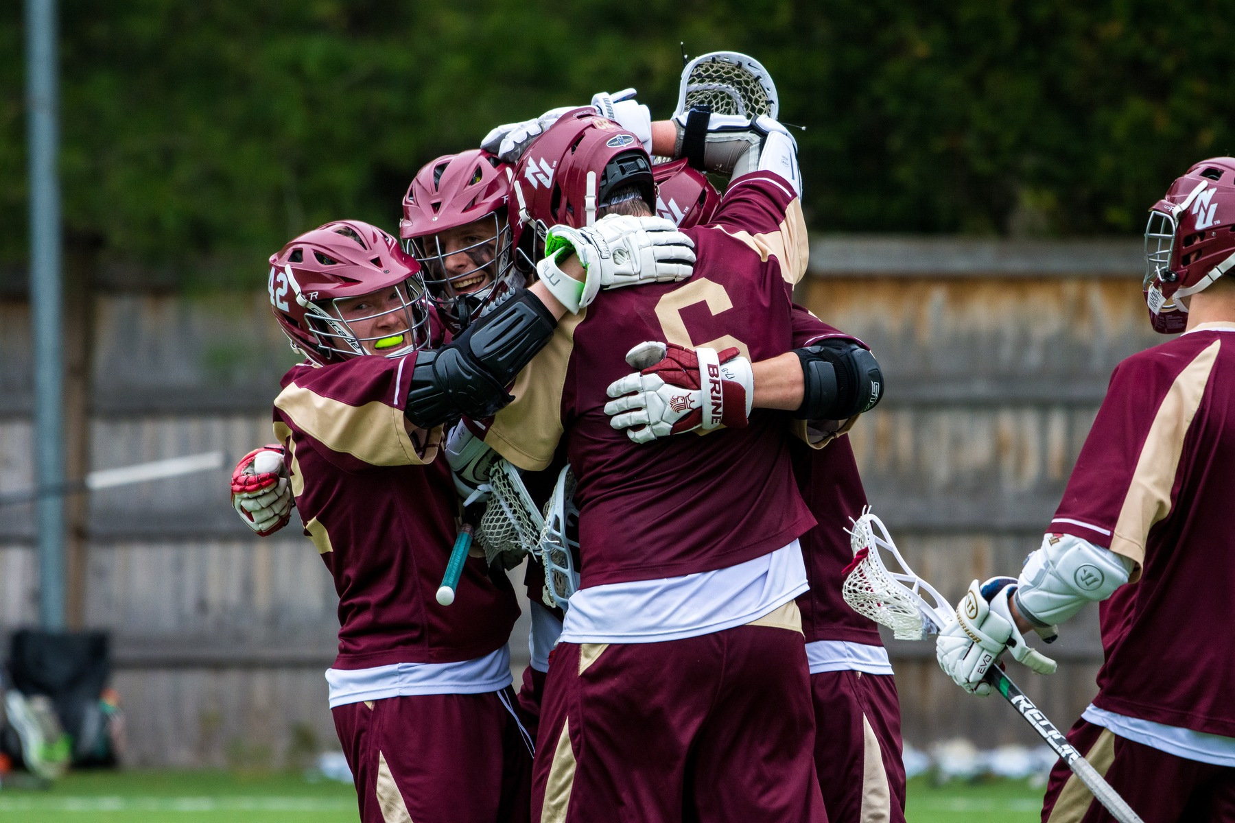 Men's Lacrosse: Norwich falls to New England College in the NCAA Tournament, 12-10