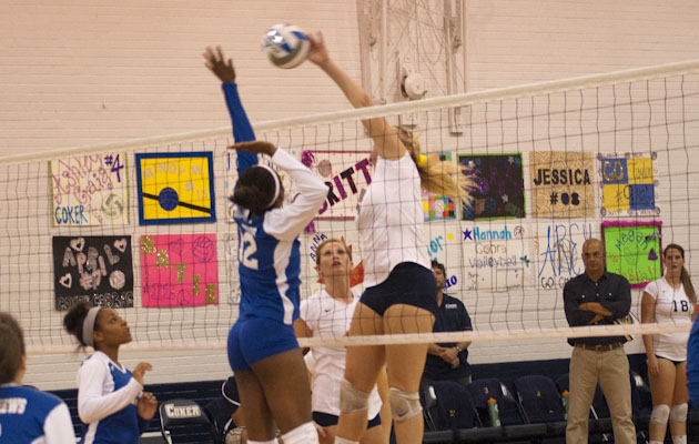 Coker Volleyball Takes Care of Virginia Union 3-0