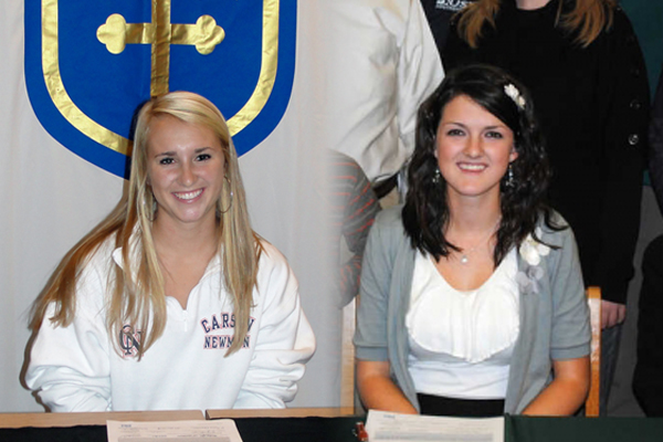 Lady Eagle Tennis signs two for 2012-2013 season
