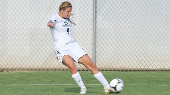 TRENTON SCORES AGAIN BUT WOMEN'S SOCCER FALLS TO WEBER STATE 3-1