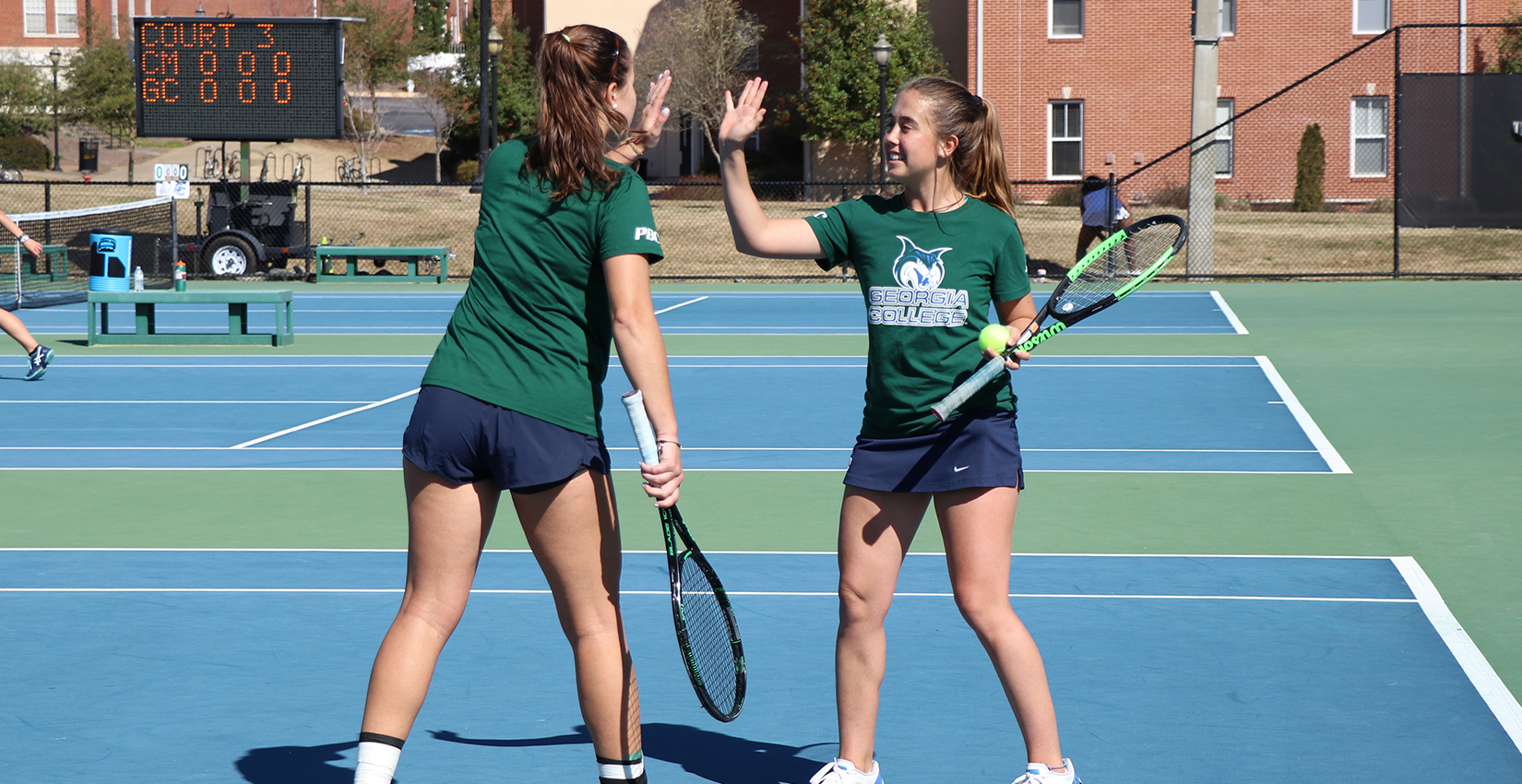 #41 Women's Tennis Stays Perfect At Home, Defeats GSW 7-0