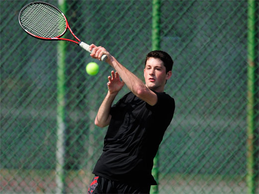 Bullets go quietly in Fords' 9-0 men's tennis victory