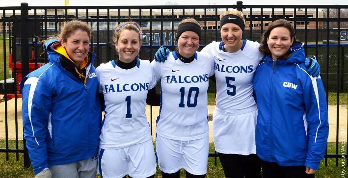 Women's Lacrosse defeats Dubuque on Senior Day