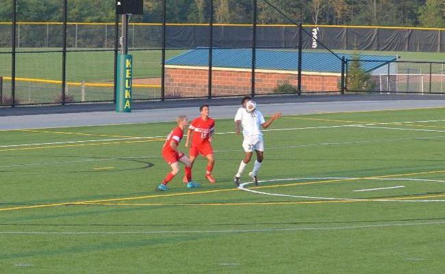 Keuka College Tops D'Youville in Men's Soccer