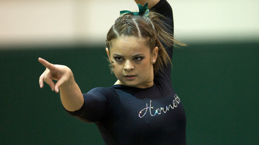 GYMNASTICS TAKES THIRD AT COMFORT SUITES INVITATIONAL