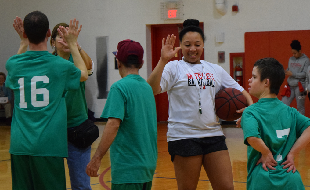 Mariners Host Second Annual Special Olympics Basketball Jamboree