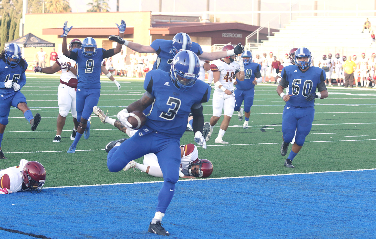 SBVC Honors Past, Looks to Future with Victory over Pasadena