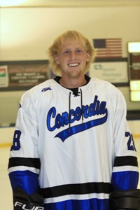 CUW's Russell Johnson is the MCHA Player of the Week