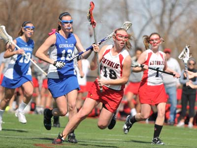 Cardinals race past Goucher 18-8 to remain unbeaten on the road