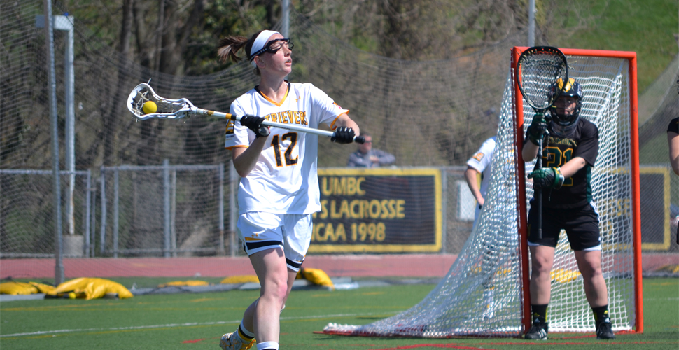 Big First Half Helps UMBC Women's Lacrosse Take Down Vermont, 12-9