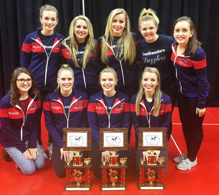 Dazzlers Place in Three Divisions at State