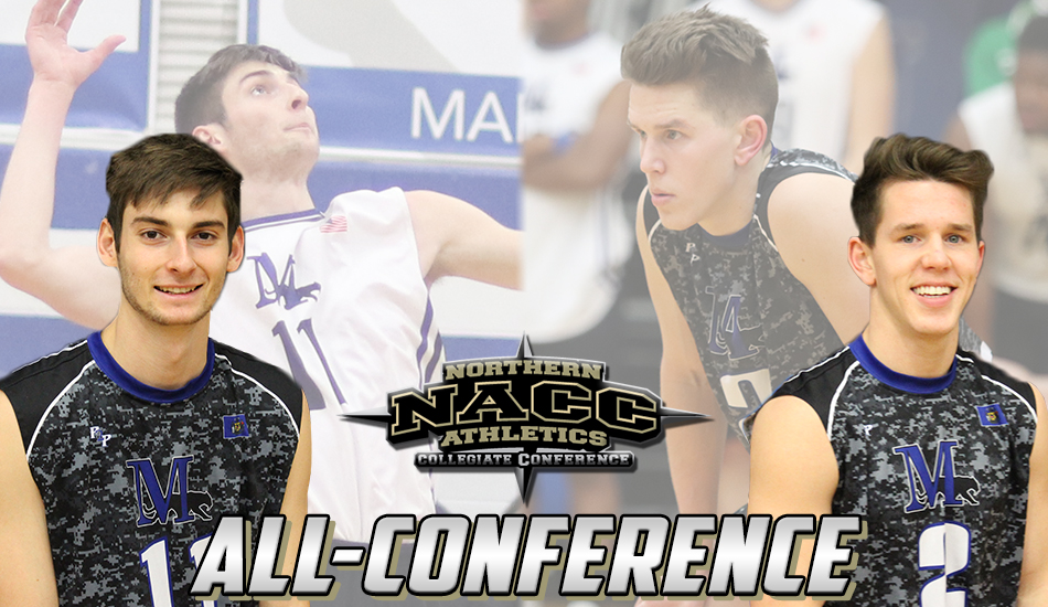 NACC All-Conference men's volleyball