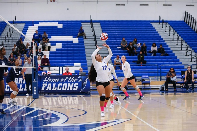 File Photo: Lizbeth Vega dished out 16 assists in the Falcons win