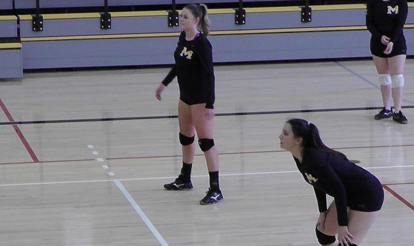 COM Volleyball Shows Resolve In Loss to Yuba