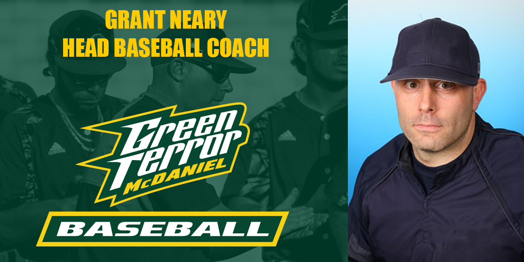 Neary Named Baseball Coach at McDaniel