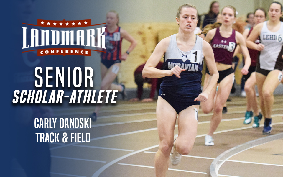 Carly Danoski selected as 2020 Landmark Conference Indoor Track & Field Senior Scholar-Athlete