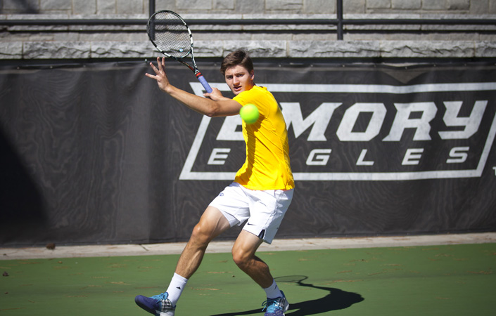 Emory Men's Tennis Secures Spots In ITA Region Singles & Doubles Championships