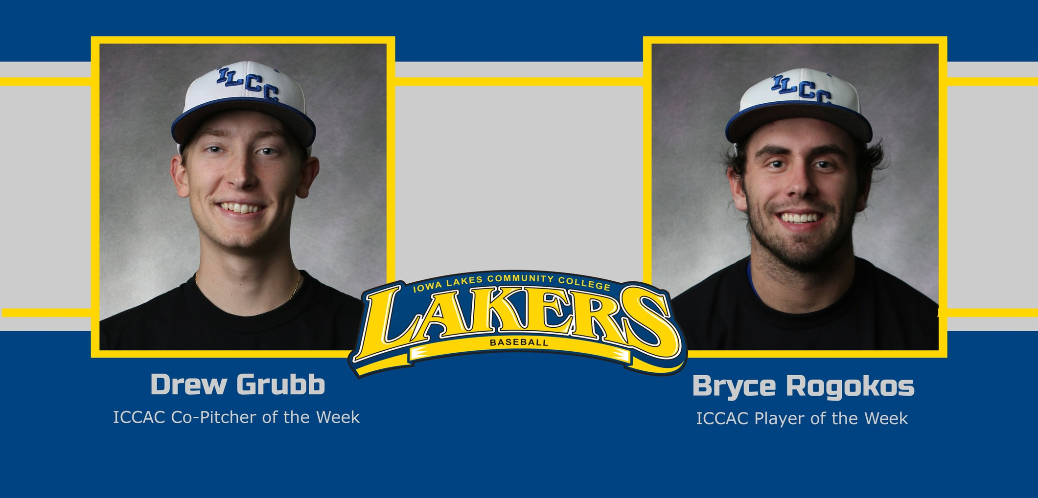 2 Lakers Earn Athlete and Co-Pitcher of the Week