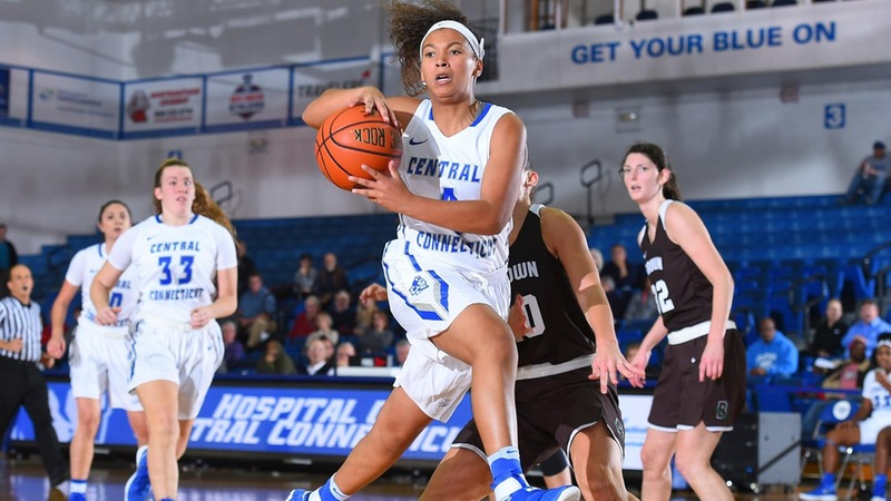 Yale Tops Women's Basketball in New Britain on Saturday